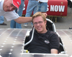 Solarcar'in it up