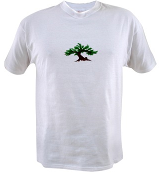 Value T-Shirt with the Dawning Bonsai