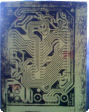 My very first PCB